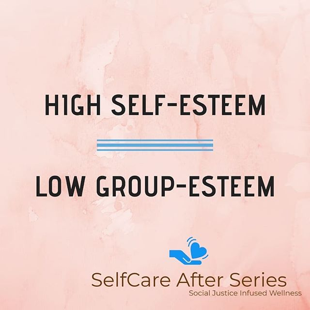 High #Self-Esteem and low  group-esteem is promoted across the #diaspora.  How one feels about a group of people manifests in the ways they interact with them.  Tag a friend and practice positive comments about your cultural heritage.  #SelfcareAfter #healingenergy #wellnessblogger #relationshipproblems #cultureclub #tuesdaythoughts #changemakers #words #mindfulliving