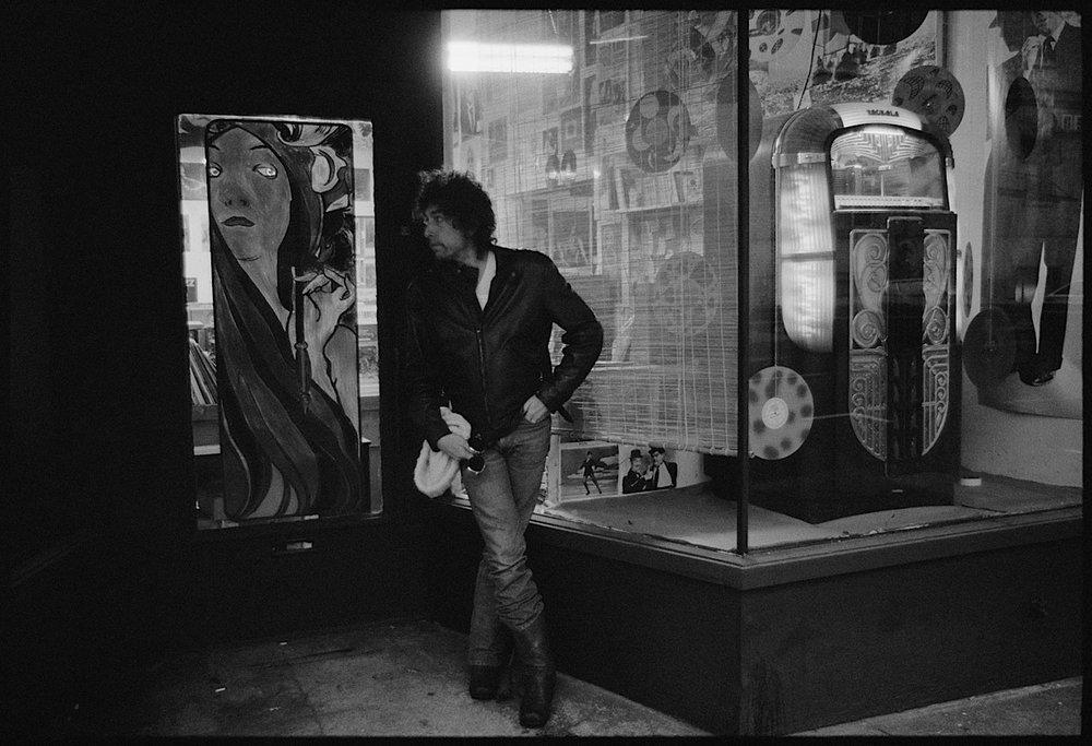 Bob Dylan in Portland, Oregon by Arthur Rosato