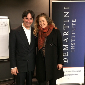 Me and Dr John  Demartini