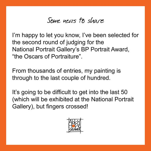 #abbyhopeskinnerart #bpportraitaward #nationalportraitgallery #bpportrait #npg