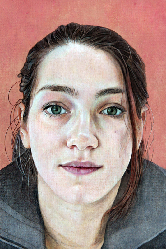 "Geo | Acrylic on canvas | 12x8"" | 2013"