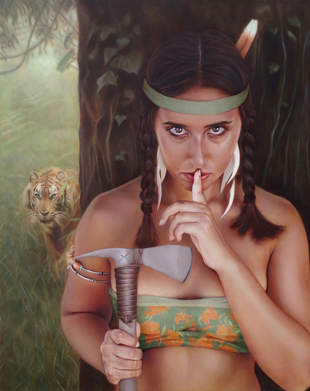 """Tiger Lily 