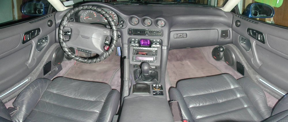 Dated but doable 3000GT interior