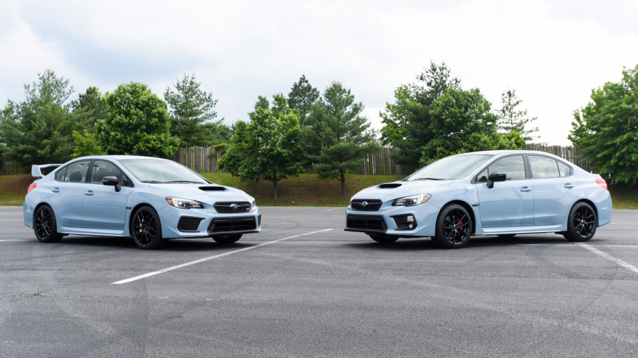 © Subaru Grey.Series Limited Edition STI and WRX