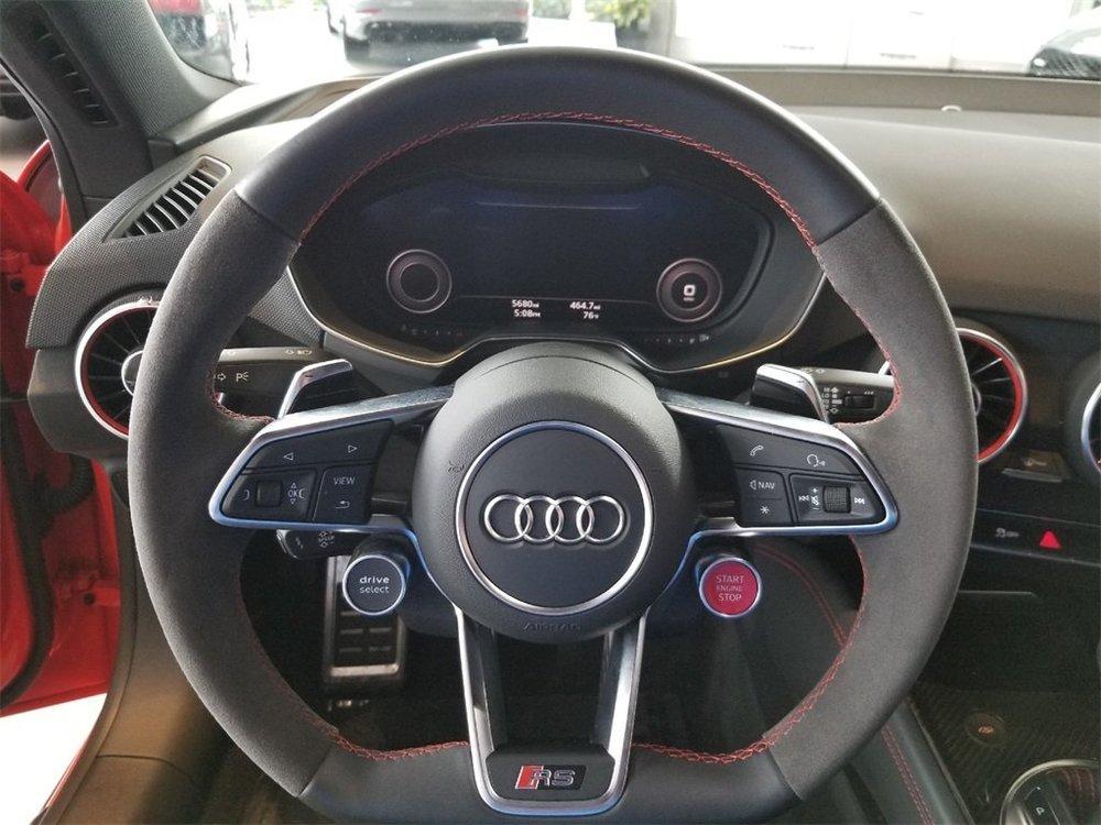 AUDI TTRS Steering Wheel