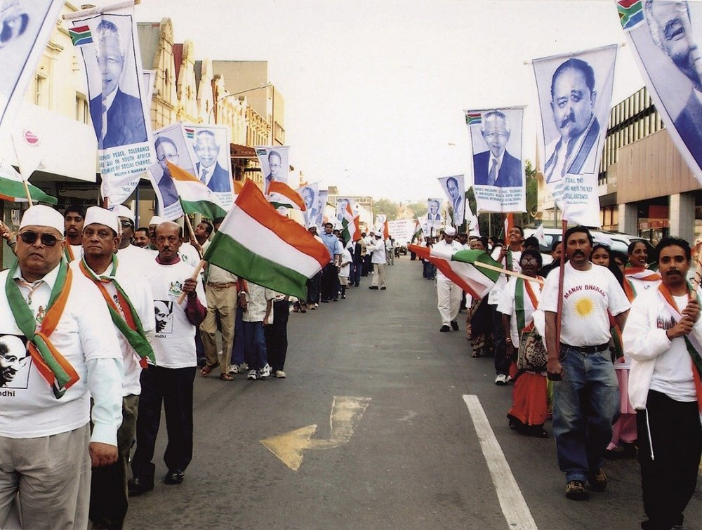 GANDHI RAINBOW PEACE MARCH (SOUTH AFRICA)