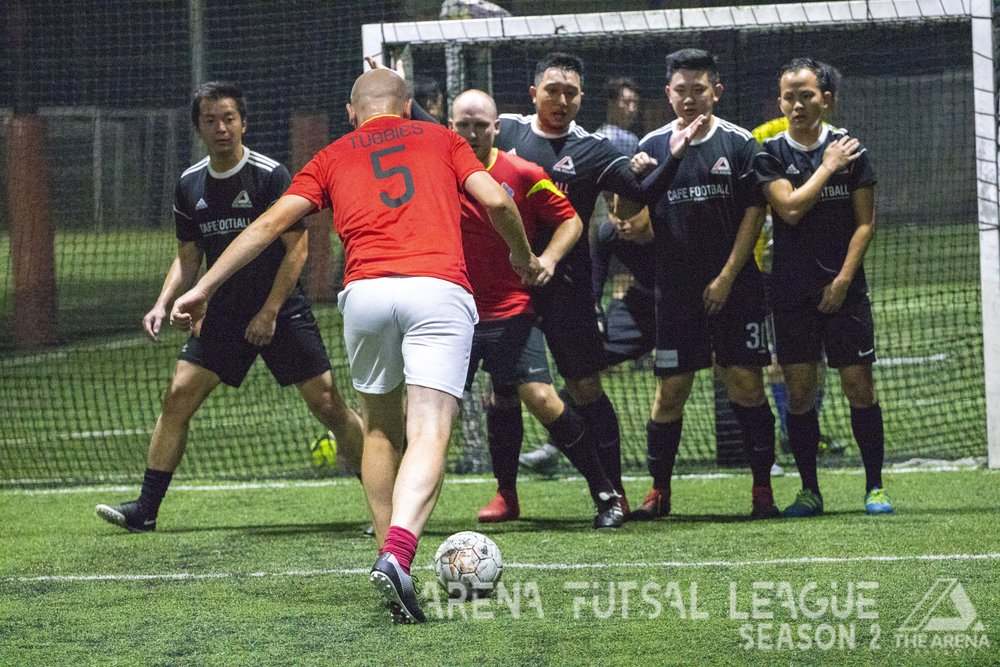 Missed out on the Mother of All Futsal Leagues? - Season 2 of our popular Arena Futsal League is now underway! With a game a week, our teams are now going at it every Tuesday at our 5-a-side pitches.Missed out on Season 2? Fret not, join us for Season 3 (starting 2019 Feb)!Register your interest now and stand to win early bird prizes.