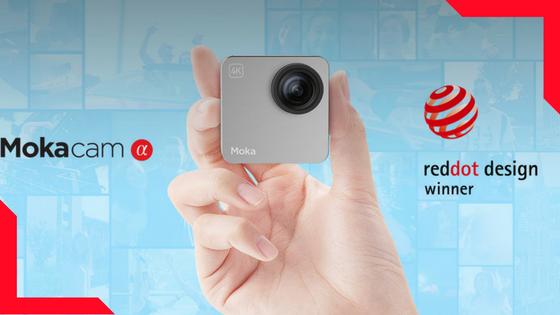 Mokacam Alpha - The Smallest 4K Action Camera