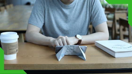 FODI - a multi-purpose origami stand for all your devices.