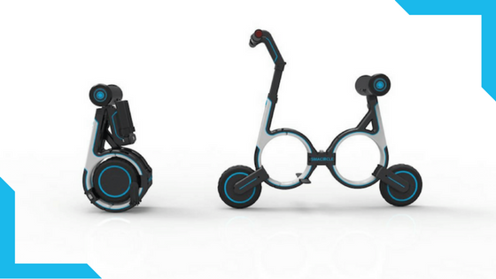 SMACIRLCE - E-bike that fits your backpack