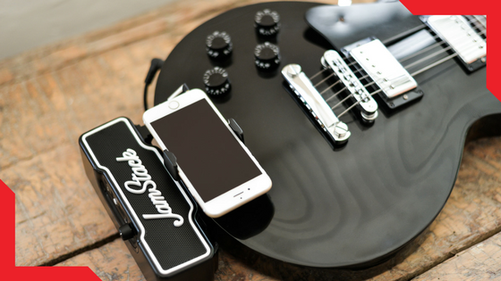 JAMSTACK - the perfect smart companion for guitar players.