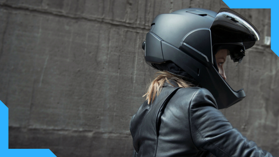 CrossHelmet - The High-Tech Helmet for Motorcyclists