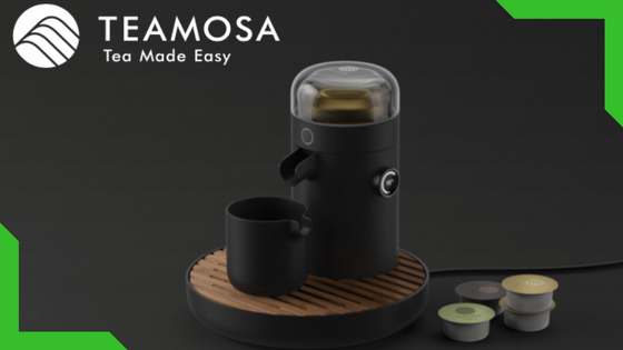 Teamosa - The High-Tech Way to Make Tea