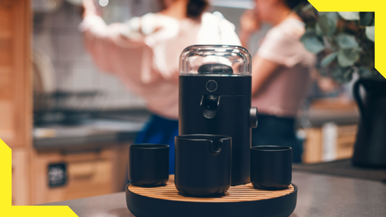 TEAMOSA :  Finished on 273% on Kickstarter and is now on  Indiegogo InDemand!   With TEAMOSA, you can customise the strength and flavour with every brew - ensuring each and every cup is crafted to perfection. Freely choose between their paper tea capsules, or your own favourite loose tea leaves.