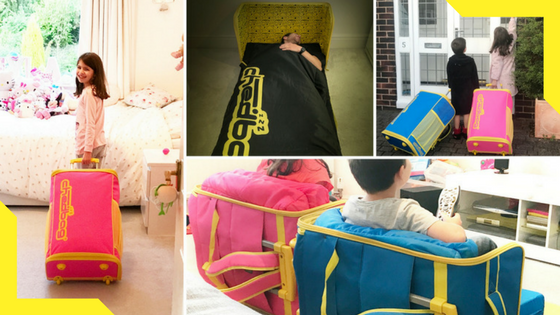 Chedbag: Sign up for insider information! The Chedbag converts into a comfortable chair and bed anytime, anywhere. Whether you're going camping or festival hopping, sleeping over at a friends or relatives, the Chedbag is the perfect solution.