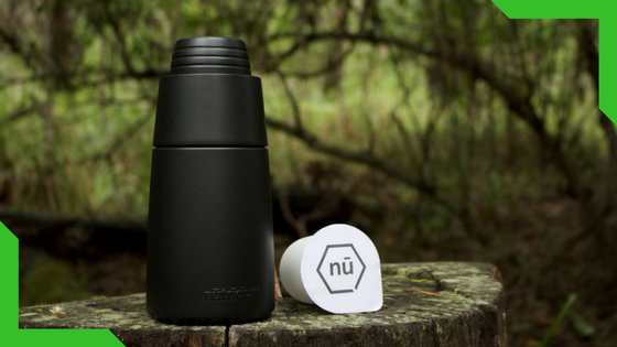 Nū Pods : 29% funded so far!   Nu Pods are instant, single-serve meal replacements with ingredients to help your body thrive, served in a compostable pod. Using our specially designed shaker, you simply add water, shake and drink. Nu Pods are designed to leave a minimal impact on our environment – they are easily recycled in your 'Green Bin' or home compost. Plant food becomes food for plants!
