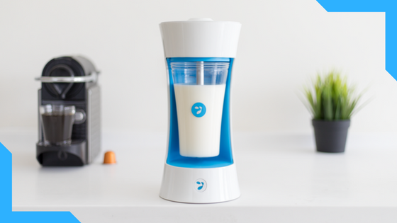 YOMEE  :  414% funded with 9 days left!   Yomee is the world's first automatic yogurt maker! It is revolutionizing homemade yogurt: with its Keurig-like design, just add milk and a Yomee pod to enjoy fresh, healthy yogurt.