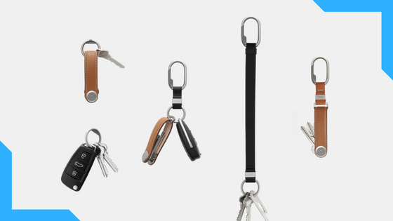 Orbitkey Ring, Clip & Strap -   The keyring reinvented    :   Raised over $150,000 on Kickstarter so far and there are still 52 days left!  The Orbitkey Ring, Clip and Strap are designed to work great independently, but even better together. Each product improves the efficiency and accessibility of daily essentials, while accommodating for various lifestyles and uses; taking organisation to the next level.