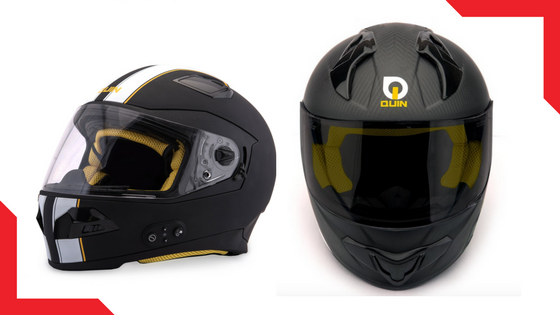 Quin Helmets:  Coming soon to Kickstarter, sign up now for your discount!  Quin Helmets are an innovative range of smart helmets geared to take safety to the next level. Quin Helmets give you modern, no-nonsense safety.  Just like the great helmet inventors of the 1930's-1970's, we have only one main inspiration: Safety. Quin Helmets deliver unparalleled performance for the modern rider, providing essential and practical technology with flawless integration. Feel traditional, ride safer.