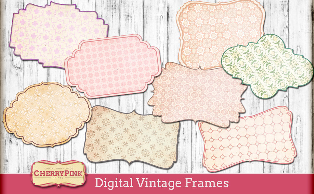 Digital Vintage Frames