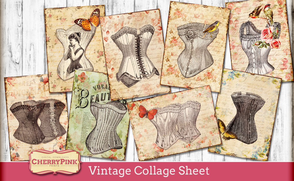 Vintage-Collage-Sheet