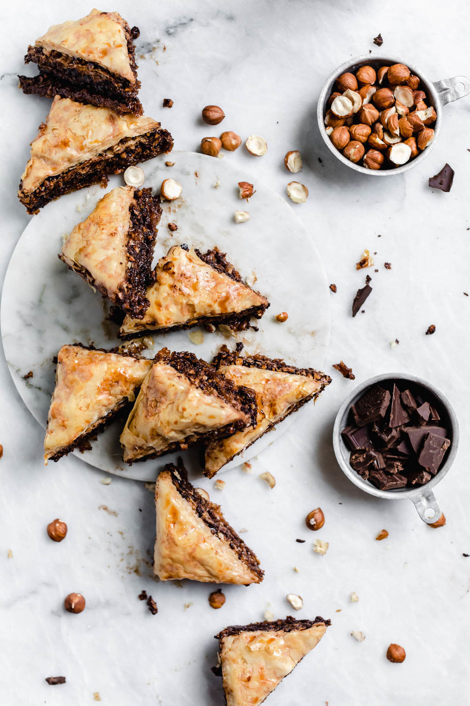 Chocolate-Hazelnut-Baklava