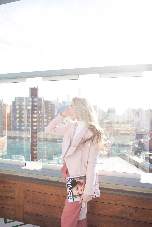 blush pink style