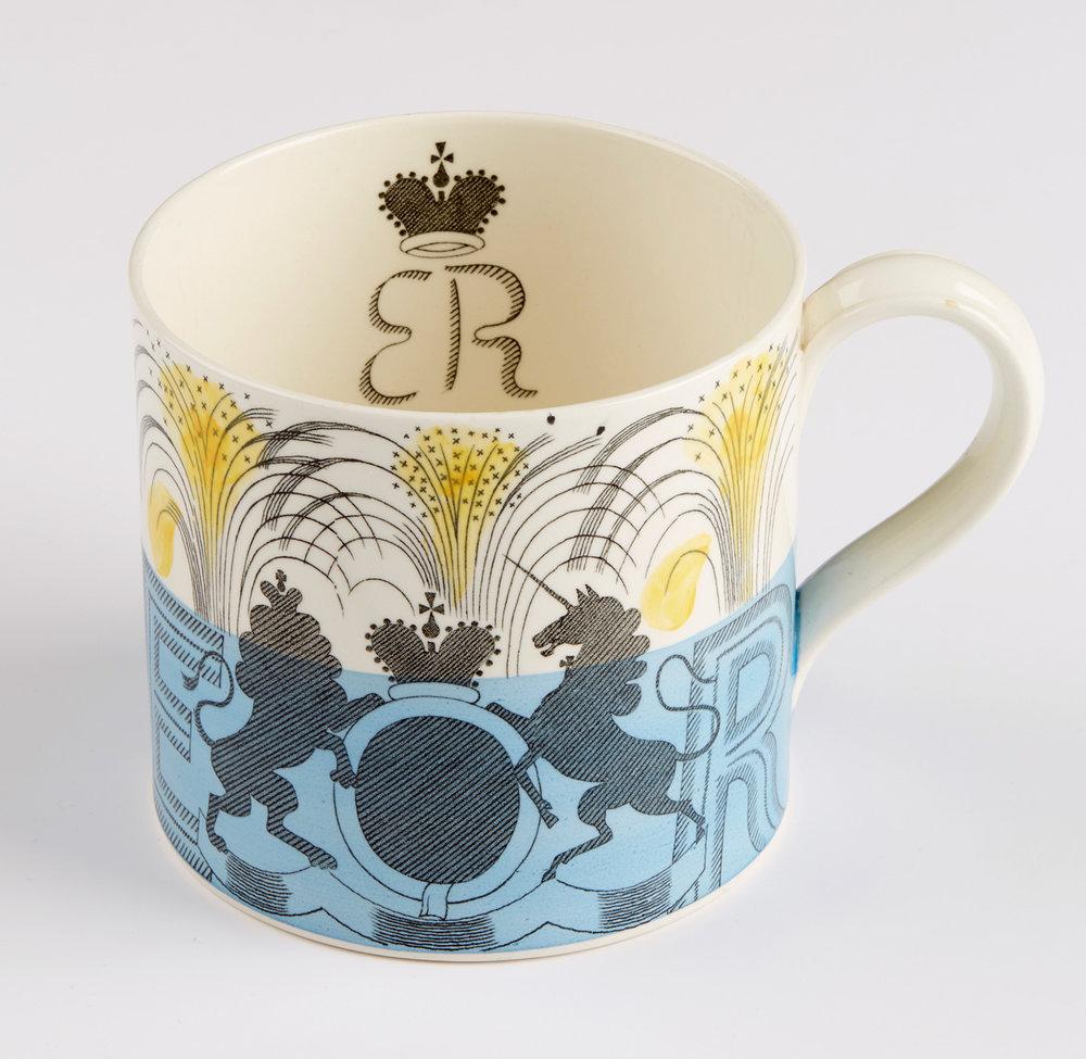 Eric Ravilious 'Edward VIII Coronation Mug'