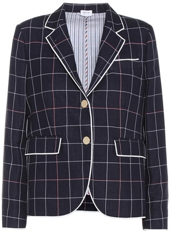Thom Browne Button Front Blazer from MyTheresa