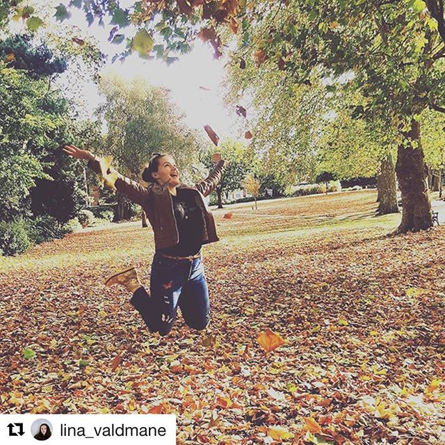 Welcome to MirrorMirror @lina_valdmane. Follow & vote on Lina's posts by downloading 'MirrorMirror - Compare Anything' from iTunes, Google Play or by clicking the link in our Instagram profile. #mirrormirror #autumn #fall #jump #jumping