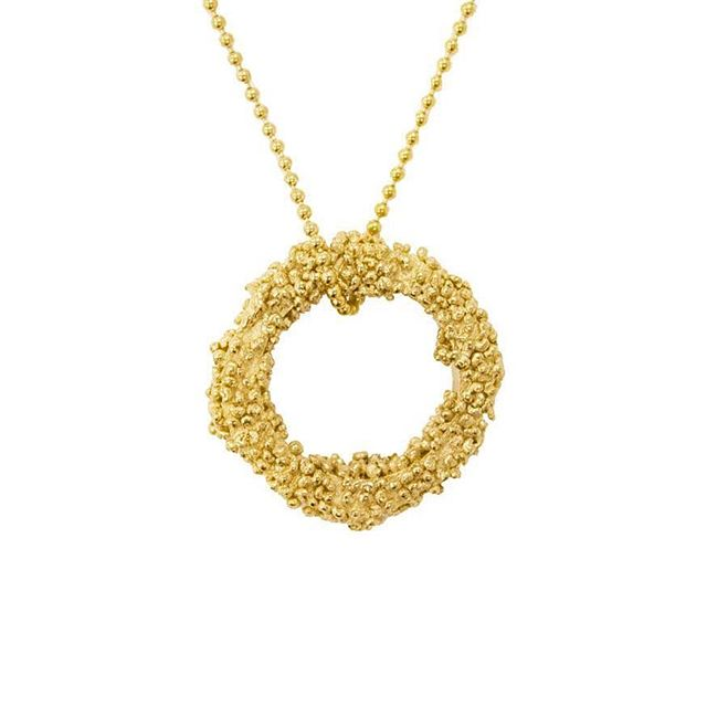 New Stockist Alert! The Glasgow School of Art shop now stock a selection of HGR Jewellery, including this 24ct Gold Plated Gaea Pendant! Each piece is handmade and completely unique, so head to @theglasgowschoolofartshop to try on something special today!  #glasgowschoolofart #gsa #newstockist #thingstodoinglasgow #scotland #handmadejewellery #goldjewellery #granulation #scottishbrand #scottishfashion #goldpendant #goldnecklace #scottishcraft #HGR