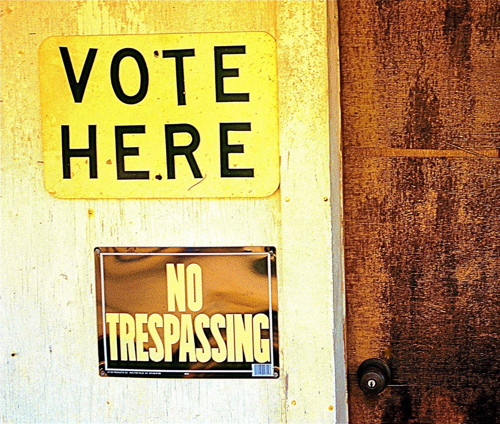 True the vote volunteers intimidating voters guide