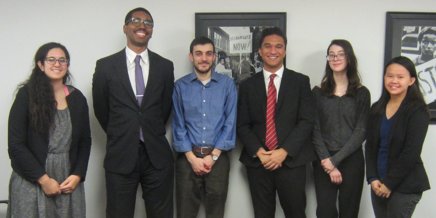 Get to Know Our New Interns Fighting for Civil Rights