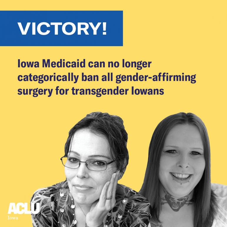 Photo Credit: ACLU of Iowa.