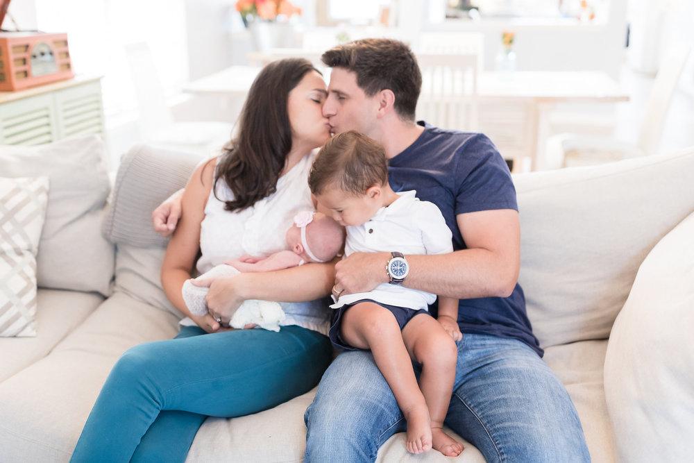 Jacksonville newborn lifestyle photographer