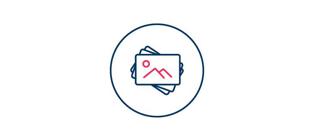 Ressources visuelles - Construction d'un logotype et d'une charte graphique, de banques d'icônes et de visuels