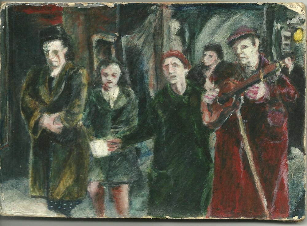 Street Singer, painted 1977