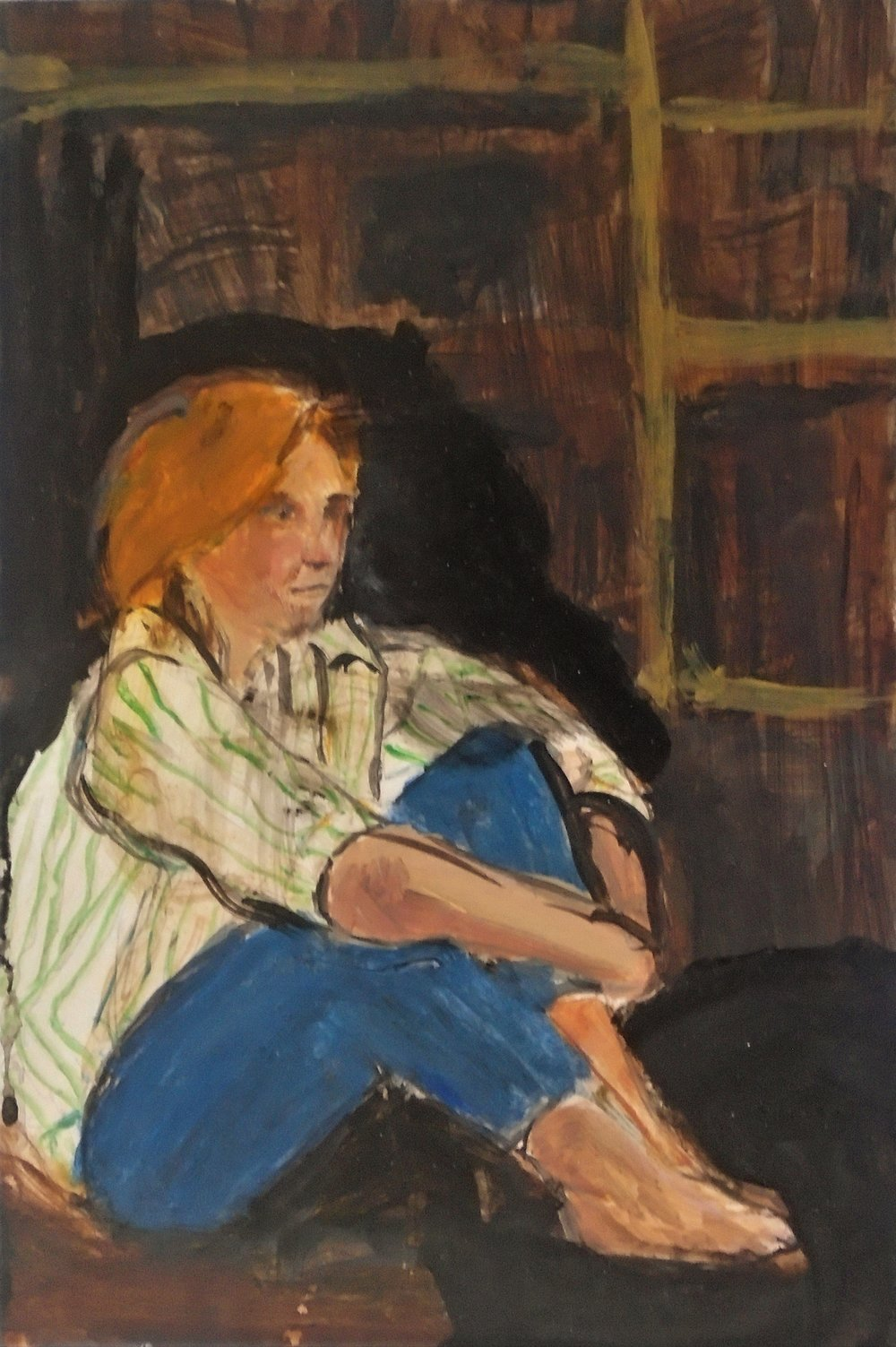 Julie, 1986 (painted 2012)