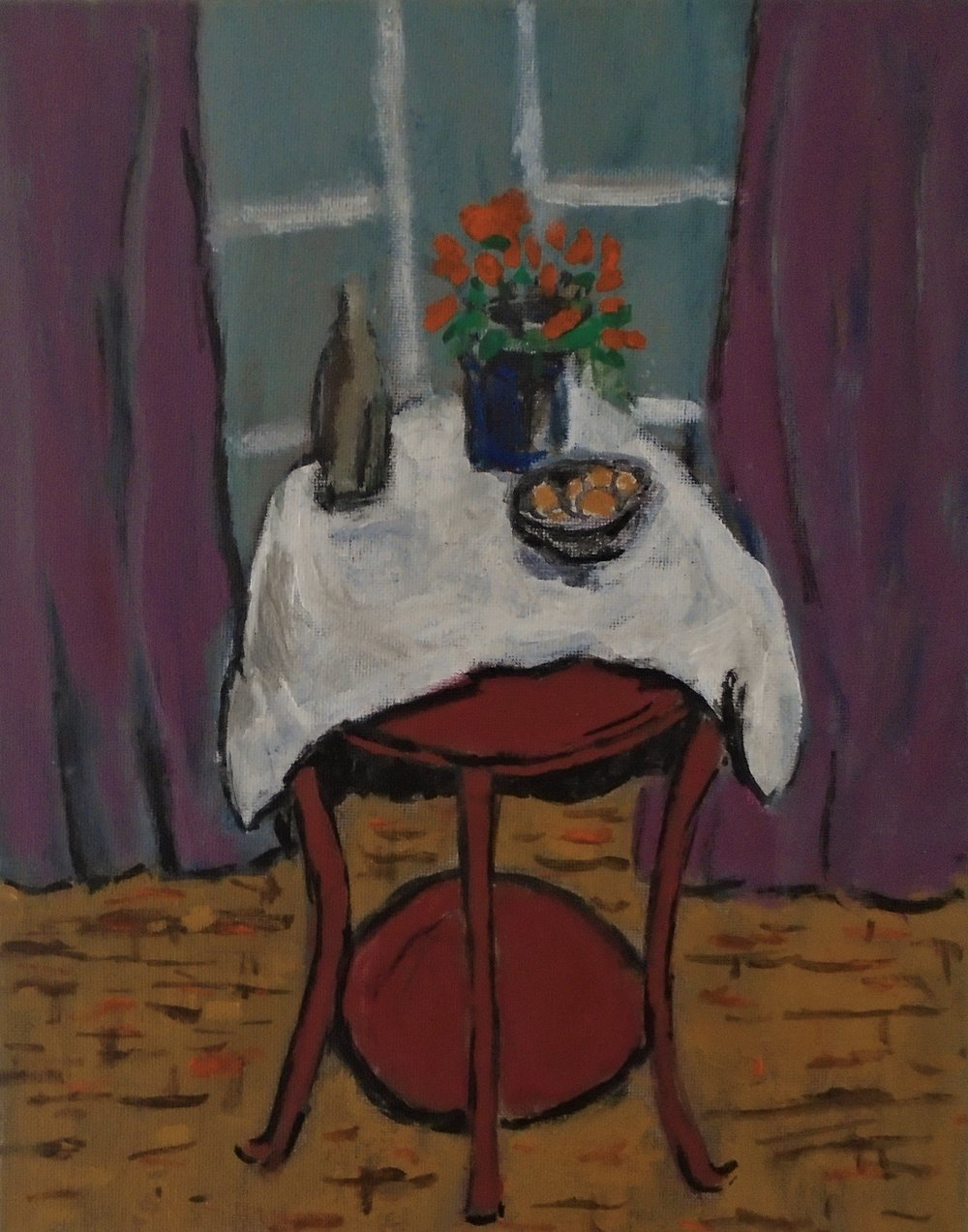 Still Life at Window