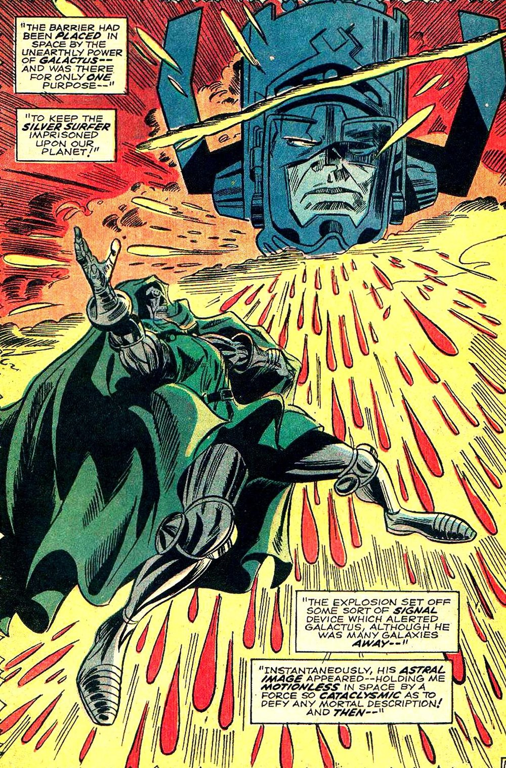 Here's the one-page image that we mentioned when talking about issue 57 - art by Gene Colan and John Tartaglione