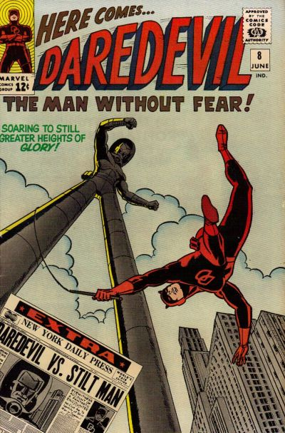 Daredevil issue 8 - art by Wally Wood