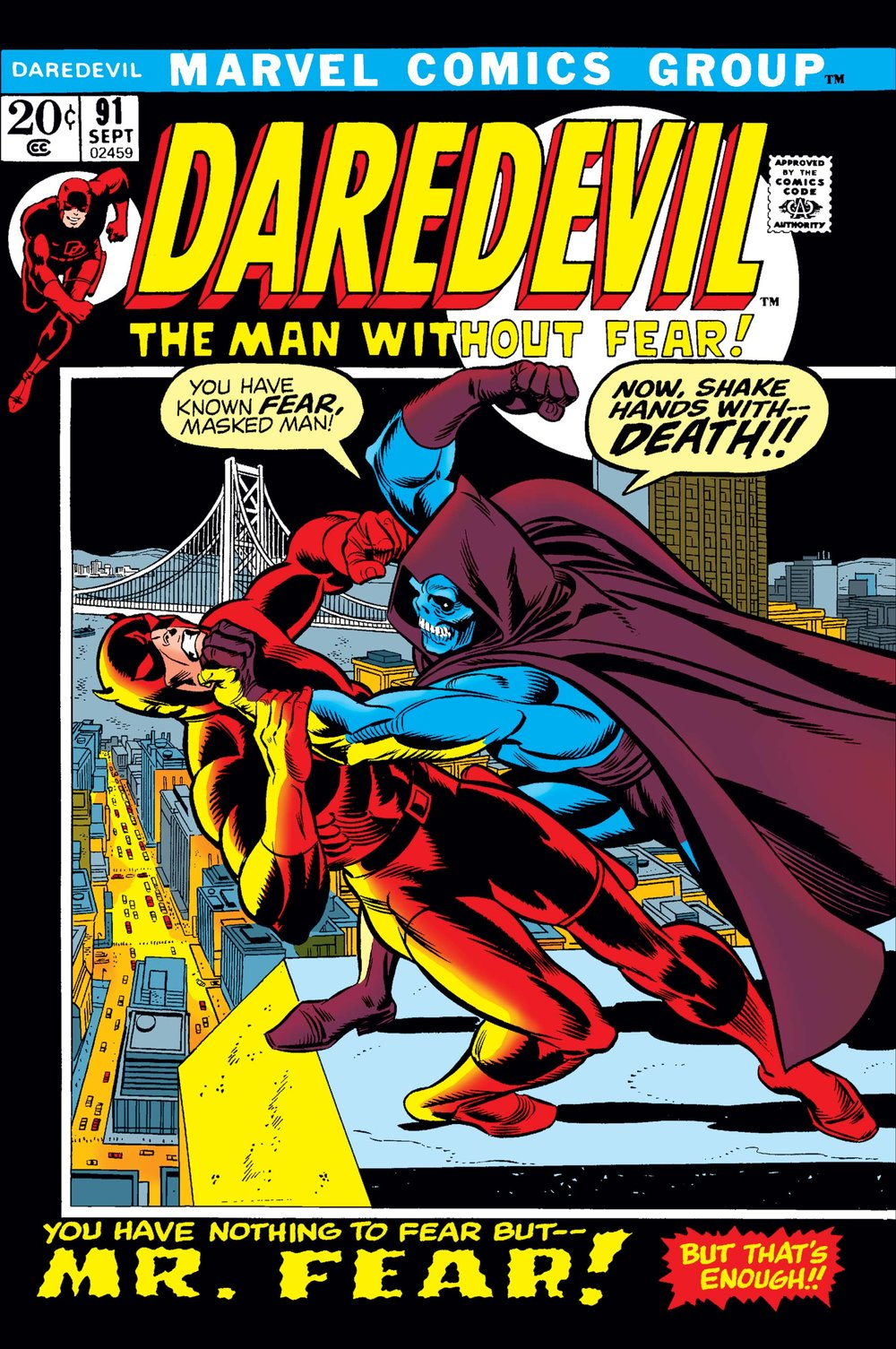 Issue 91 - art by Gil Kane