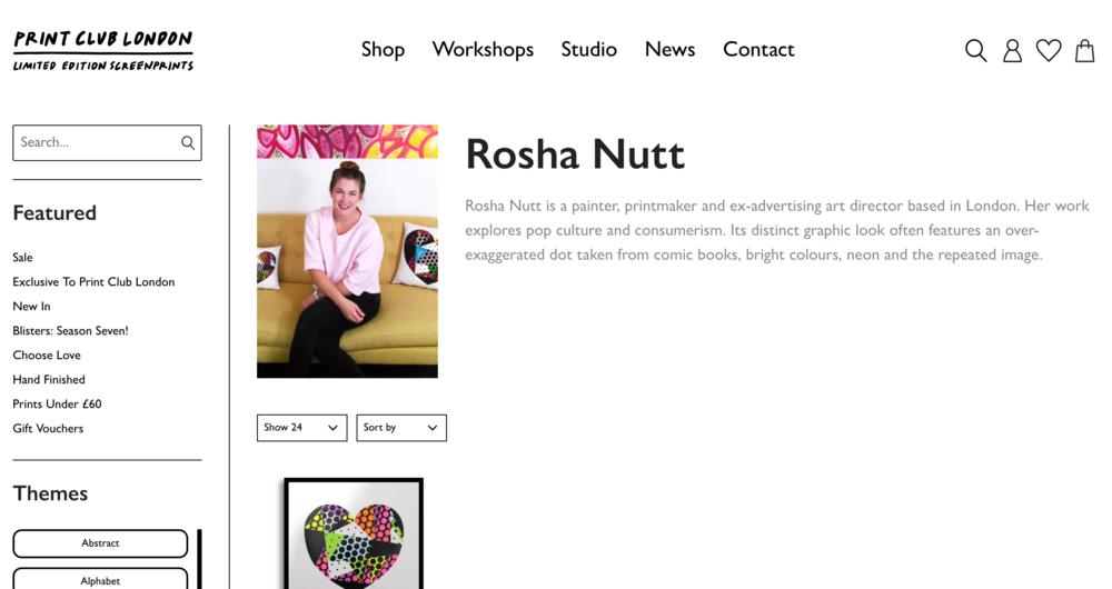 Print Club Rosha Nutt