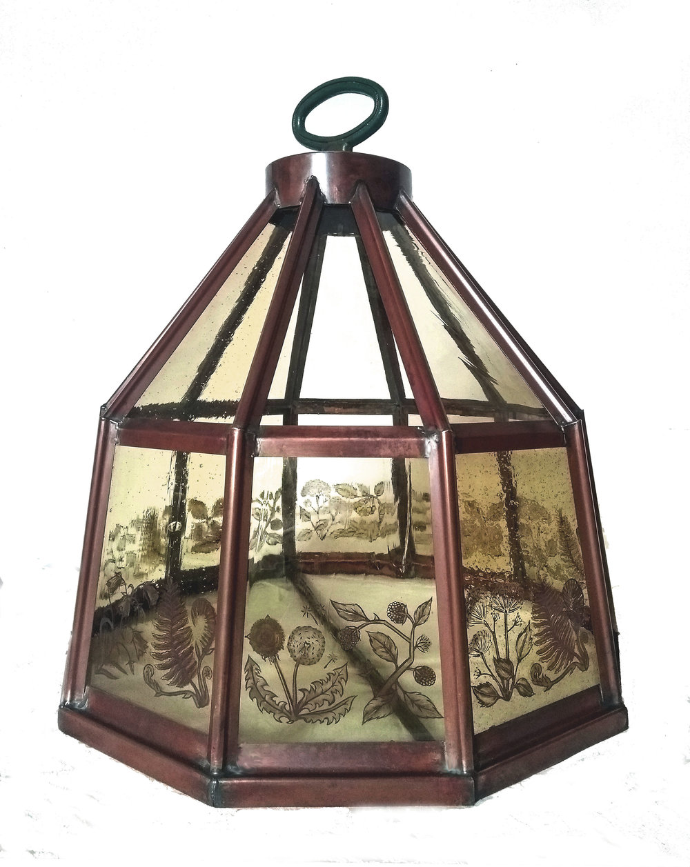Hedgerow lantern in studio.jpg