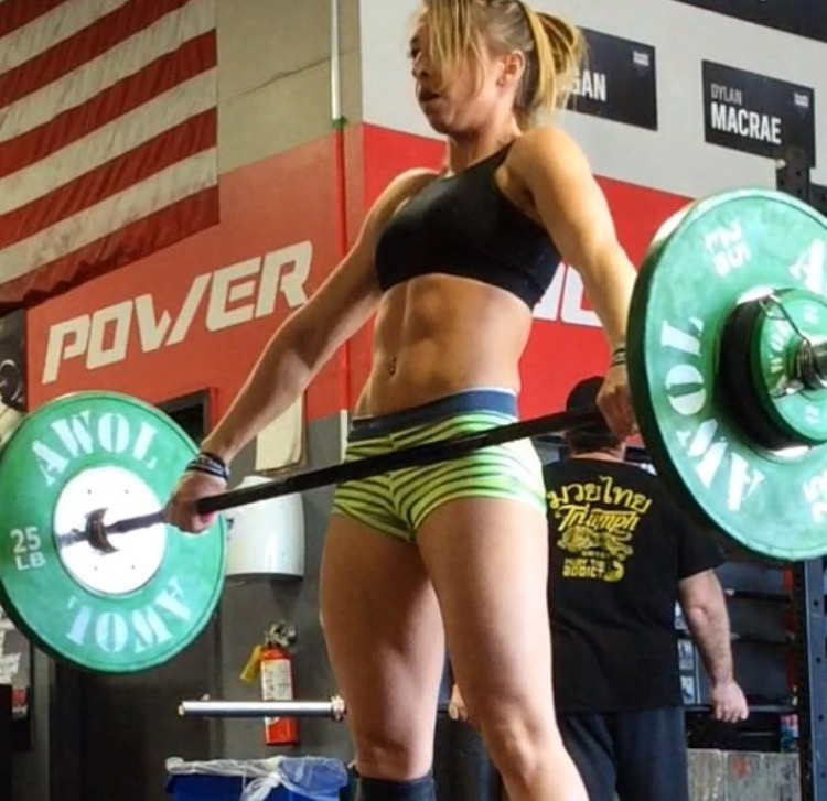 "JESSICA SALAS ""JGRAY"" Olympic Lifter, Crossfit Athlete, Coach for The Skill WOD"