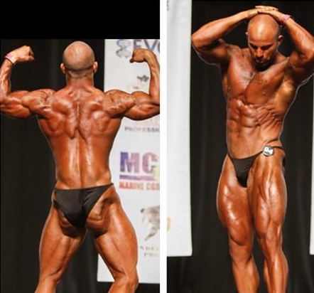 CASEY PIERCE VAN FOSSEN Nationally Qualified Bodybuilder