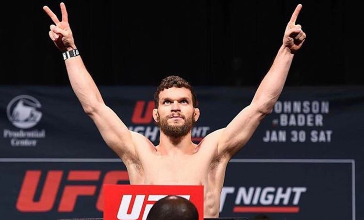 DUSTIN ORTIZ Pro UFC Fighter