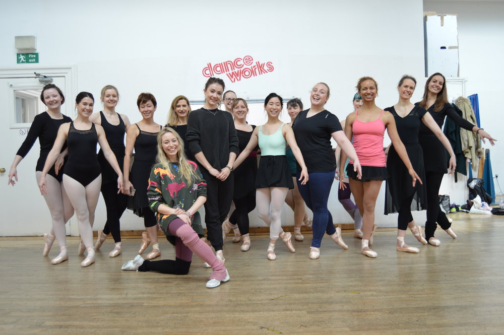 Claire Calvert Master Class