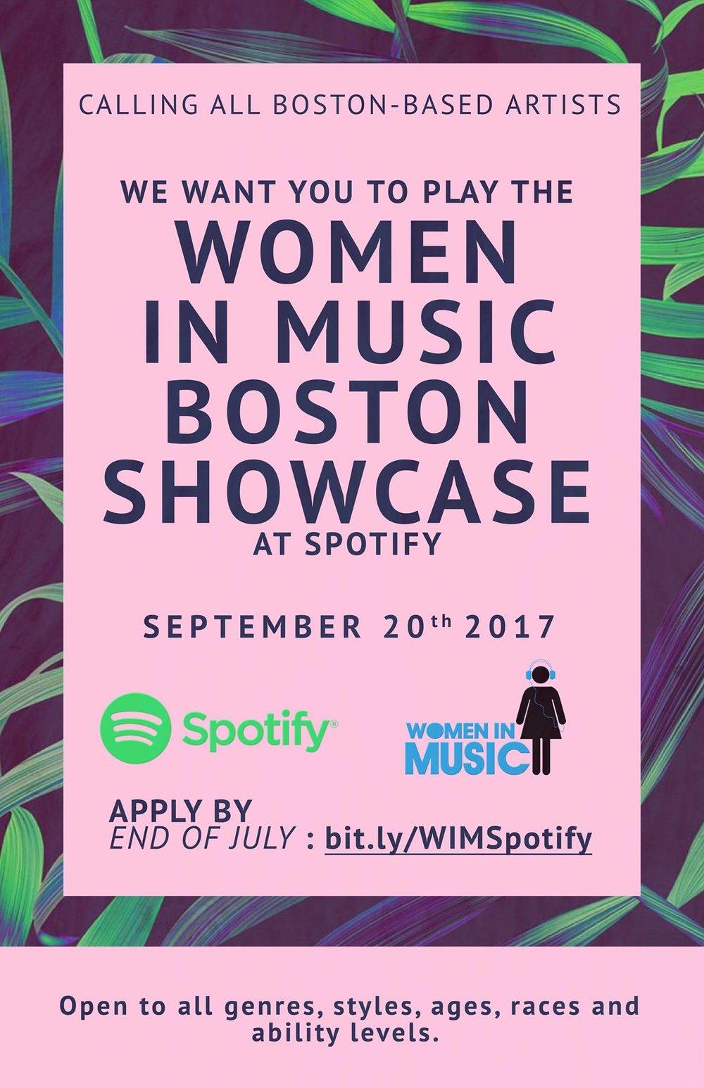 Women In Music Boston