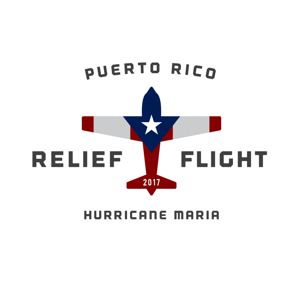 Puerto Rico Relief Flight - This is a grassroots effort to airlift supplies to the people of Puerto Rico after the devastation of Hurricane Maria. They are asking for both monetary and item donations.